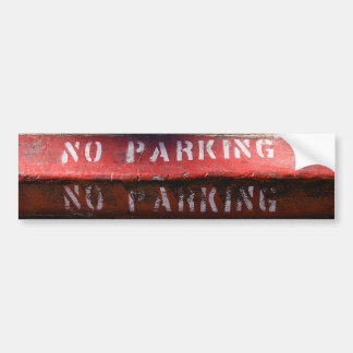 No Parking bumper sticker Car Bumper Sticker
