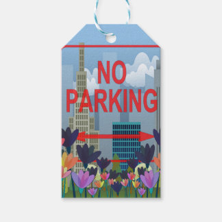 No parking gift tags