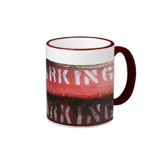 No Parking mug