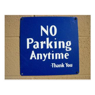 No Parking Thank You Postcard