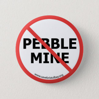 No Pebble Mine Button