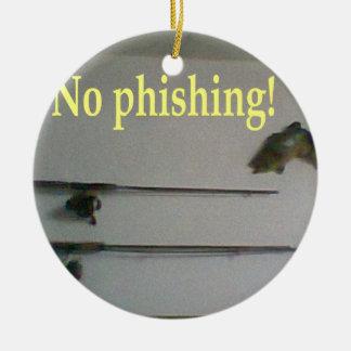 No phishing! christmas ornaments