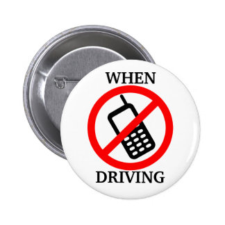 No Phone When Driving Buttons