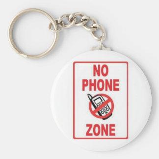 NO PHONE ZONE KEY CHAINS