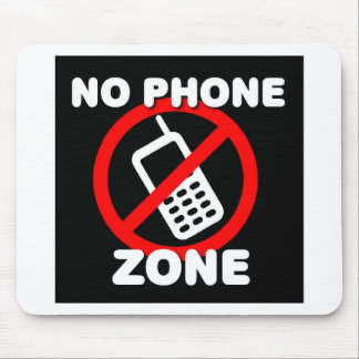 No Phone Zone Mouse Pad