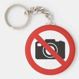 No Photos Allowed Key Ring