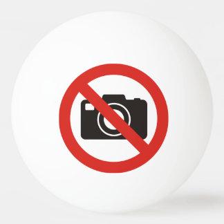 No Photos Allowed Ping Pong Ball