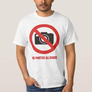 No Photos Allowed T-Shirt