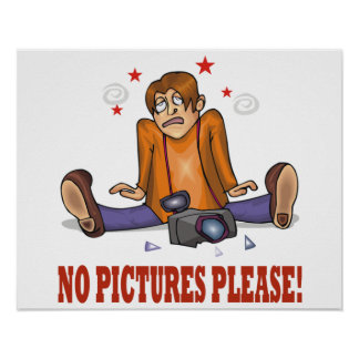 No Pictures Please Poster