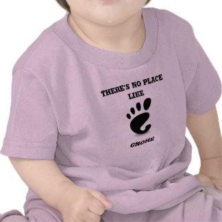 No Place Like GNOME T-shirt