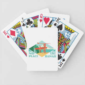 No Place Like Hawaii Bicycle Playing Cards