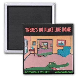 NO PLACE LIKE HOME $3.00 FRIDGE MAGNETS