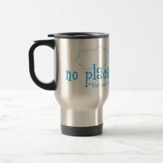 No Place Like Home Christian travel mug