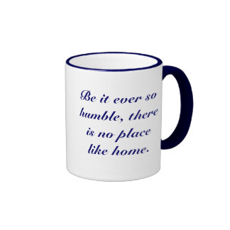 No Place Like Home Ringer Coffee Mug