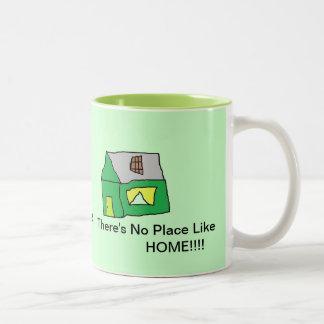 No place like home Two-Tone mug