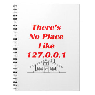no place like home notebook