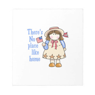 NO PLACE LIKE HOME MEMO NOTE PADS