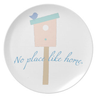 No Place Like Home Dinner Plate