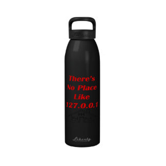 no place like home reusable water bottle