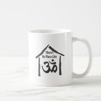 No Place Like Om Calligraphy Mugs