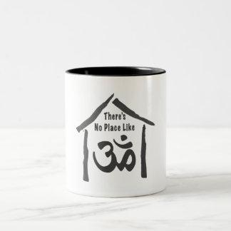 No Place Like Om Calligraphy Coffee Mug