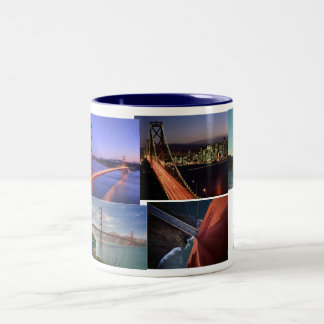 No Place Like San Francisco Two-Tone Coffee Mug