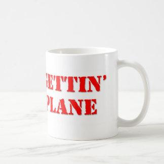 No Plane Basic White Mug