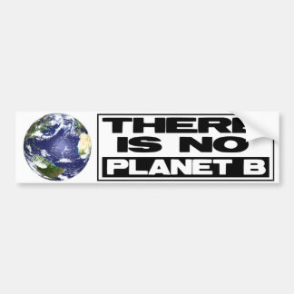 No Planet B Bumper Sticker
