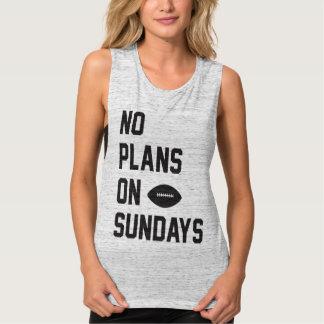 No Plans on Football Sunday Tank