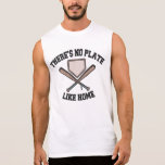 No Plate Like Home III Sleeveless Tees