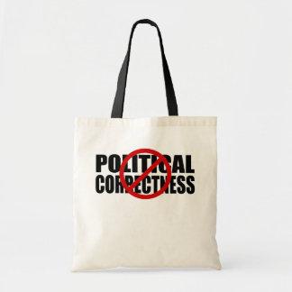 No  Political Correctness Budget Tote Bag