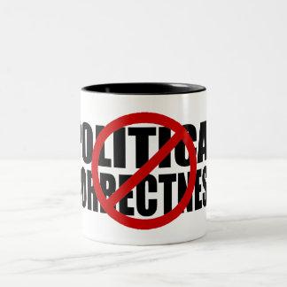 No Political Correctness Two-Tone Mug