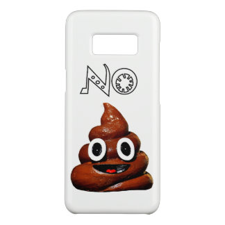 No Poo Cell Phone Case Samsung Galaxy S8