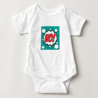 NO pop art jazzy t-shirt, stunning! Baby Bodysuit