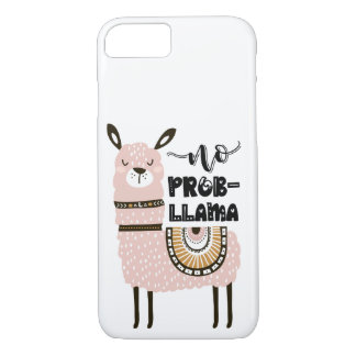 No Prob-Llama Cute Funny iPhone 8/7 Case