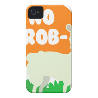 No Prob-Llama - The No Problem Llama - Funny Case-Mate iPhone 4 Case