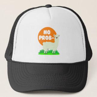 No Prob-Llama - The No Problem Llama - Funny Trucker Hat