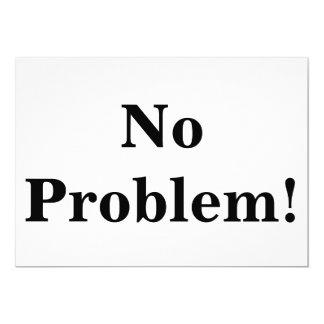 No Problem Card