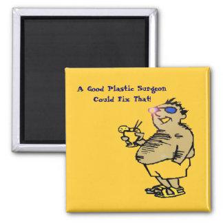 No Problem! Square Magnet