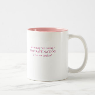 No Procrastination! Mugs