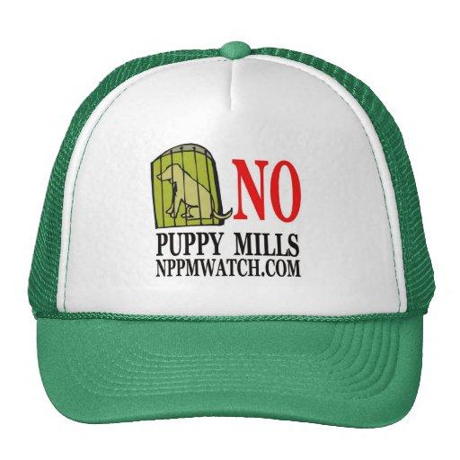 No Puppy Mills Cap Mesh Hats