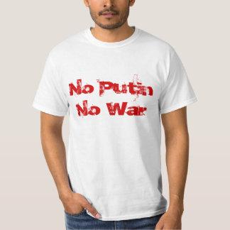 No Putin No War T-Shirt