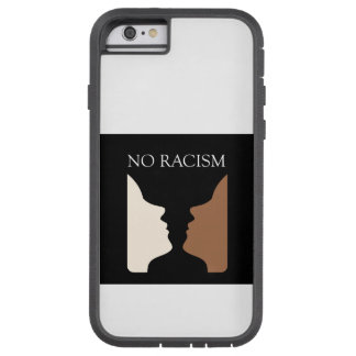 No racism with rubins vase tough xtreme iPhone 6 case