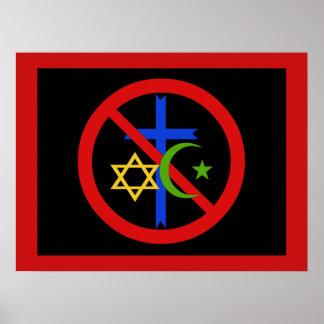 No Religion Poster