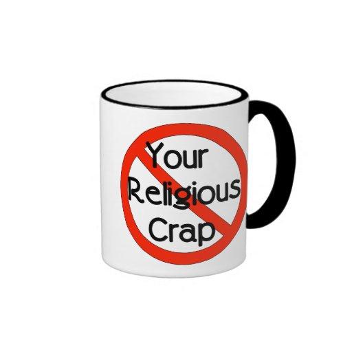 No Religious Crap Mug