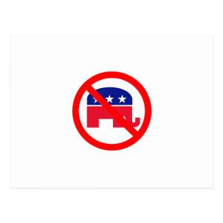No Republicans Postcard