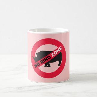 No Rino Zone Mug