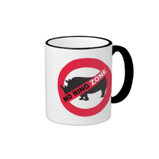 No Rino Zone Coffee Mug