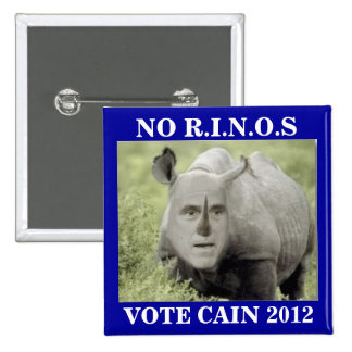 NO RINOS CAIN 2012 15 CM SQUARE BADGE