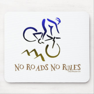 NO ROADS NO RULES MOUSE PADS
